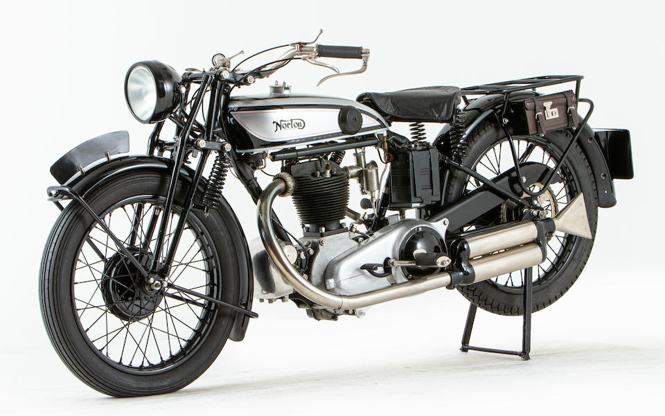Offered from the National Motorcycle Museum Collection, 1929 Norton 490cc Model 18 Frame no. 41655 (see text) Engine no. 41655