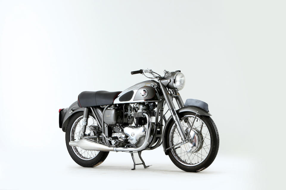 Offered from the National Motorcycle Museum Collection, 1956 Norton 497cc Dominator 88 Frame no. L122 68911 Engine no. 68911 L122