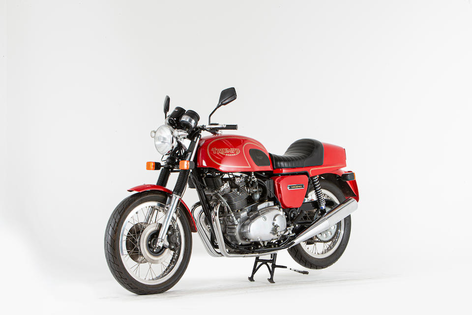 Offered from the National Motorcycle Museum Collection, 1975 Triumph 741cc Legend No. 058 Frame no. T160 CK02898 Engine no. T160 CK02898