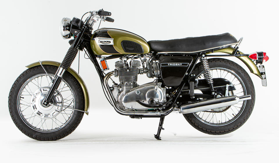 Offered from the National Motorcycle Museum Collection, 1968 Triumph 740cc T150 Trident Frame no. T150T 121 Engine no. T150T 121 (see text)