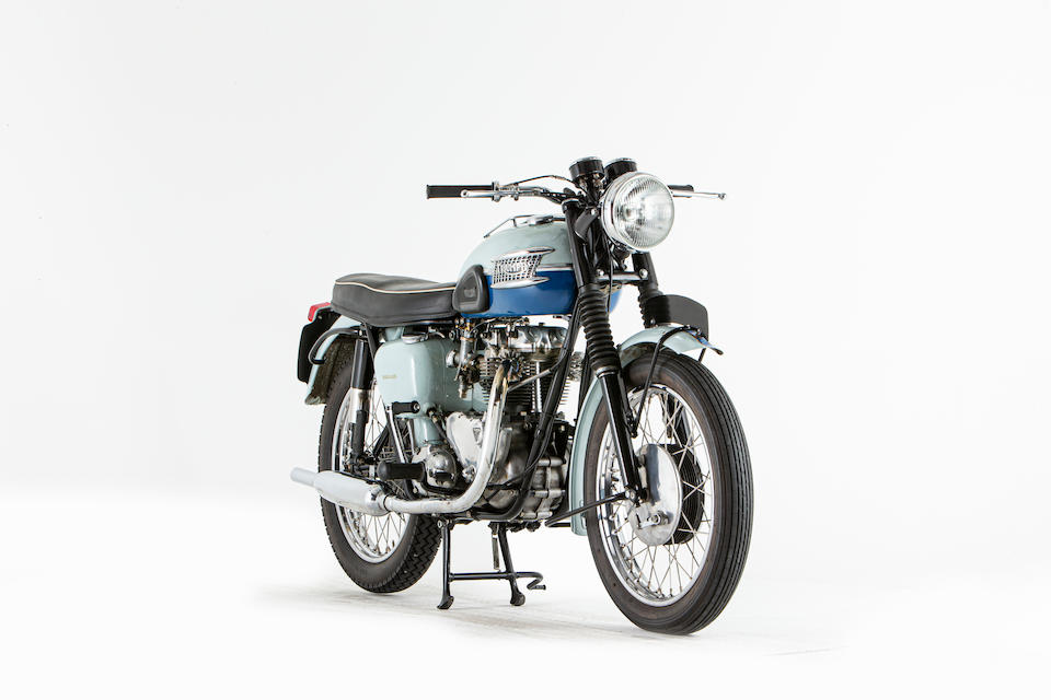 Offered from the National Motorcycle Museum Collection,1959 Triumph 649cc T120 Bonneville Frame no. D1458 Engine no. T120 D1458