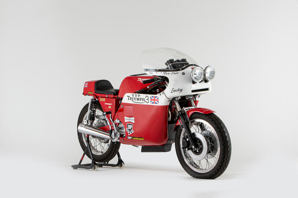 Offered from the National Motorcycle Museum Collection, 1984 Triumph 744cc Trident T150V 'Rob North' Replica Frame no. ME00117 Engine no. T150V NK45136