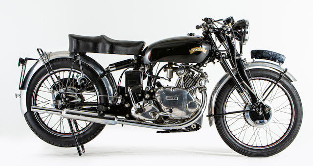 Offered from the National Motorcycle Museum Collection, 1954 Vincent 499cc Comet Series C Frame no. RC/1/12412 Rear frame no. RC/1/12412 Engine no. F5AB/2A/10512 Crankcase mating no. PP4
