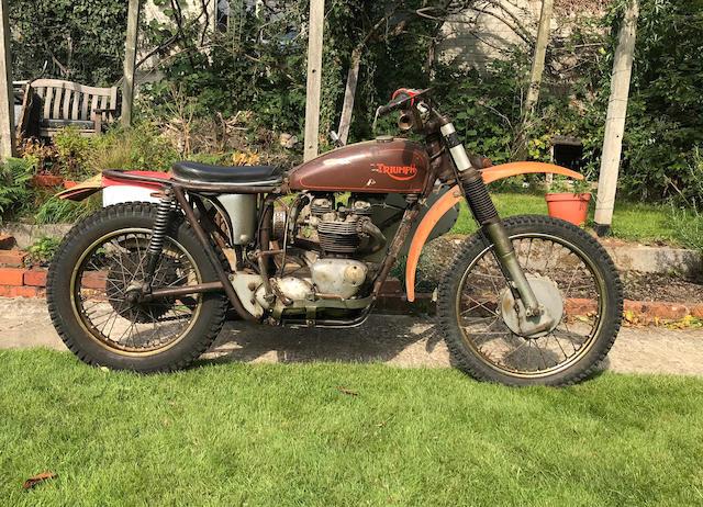 1965 Triumph 649cc TR6 SS Trophy Motorcycle Combination Frame no. TR6 SS DU 23675 Engine no. TR6 SS DU 23675