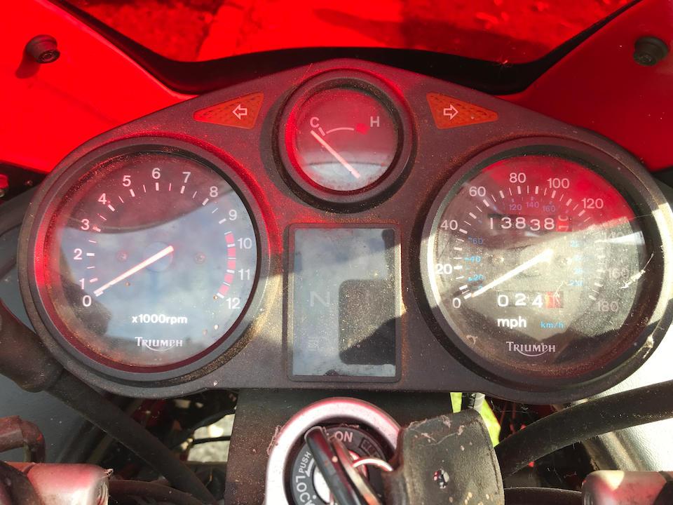 1991 Triumph 1200 Trophy Frame no. SMTTC341CFM000543 Engine no. 000560