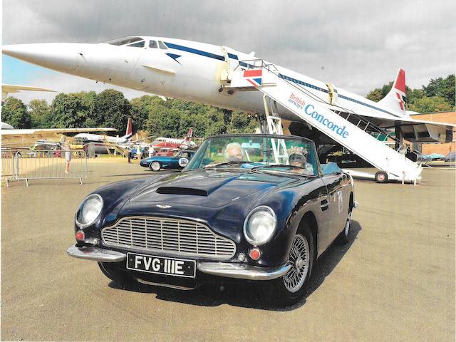 1967 Aston Martin DB6 Vantage Volante MkI