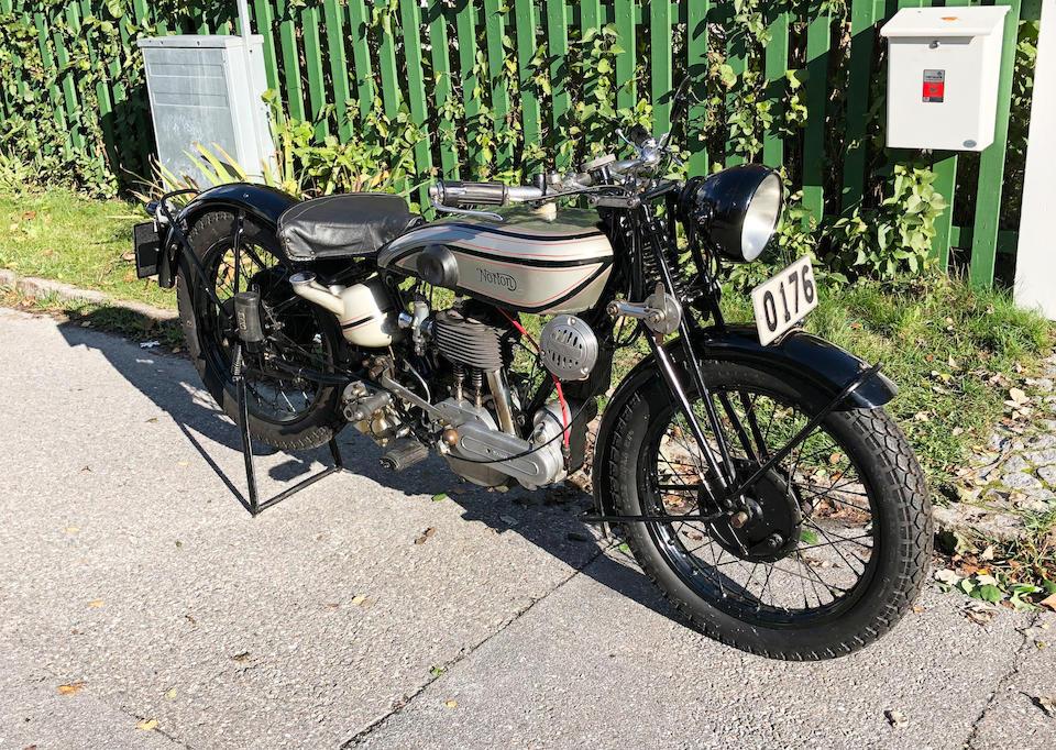 1929 Norton 490cc Model 16H Frame no. S38229 Engine no. 45162