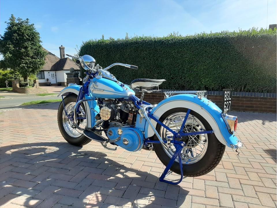 1942 Harley-Davidson 739cc WLA Frame no. WLA56610 Engine no. 42WLA56610