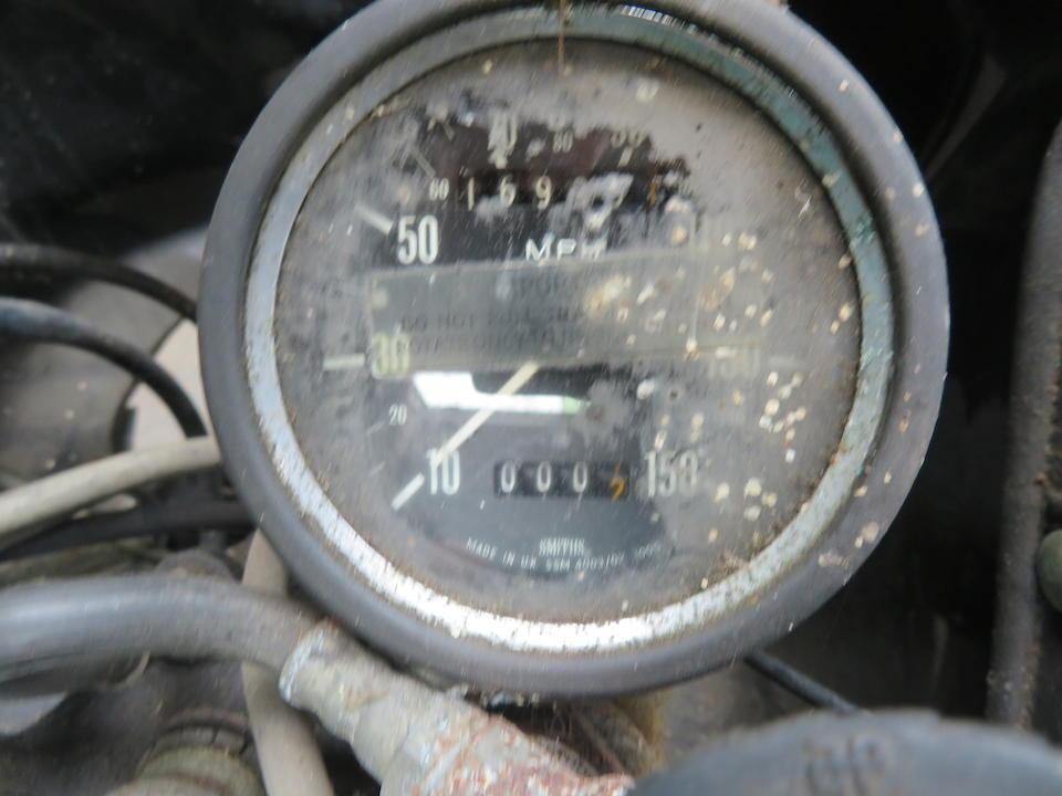 Property of a deceased's estate, 1979 Triumph 744cc TR7V Tiger 750 Frame no. none visible Engine no. TR7RV AA17396