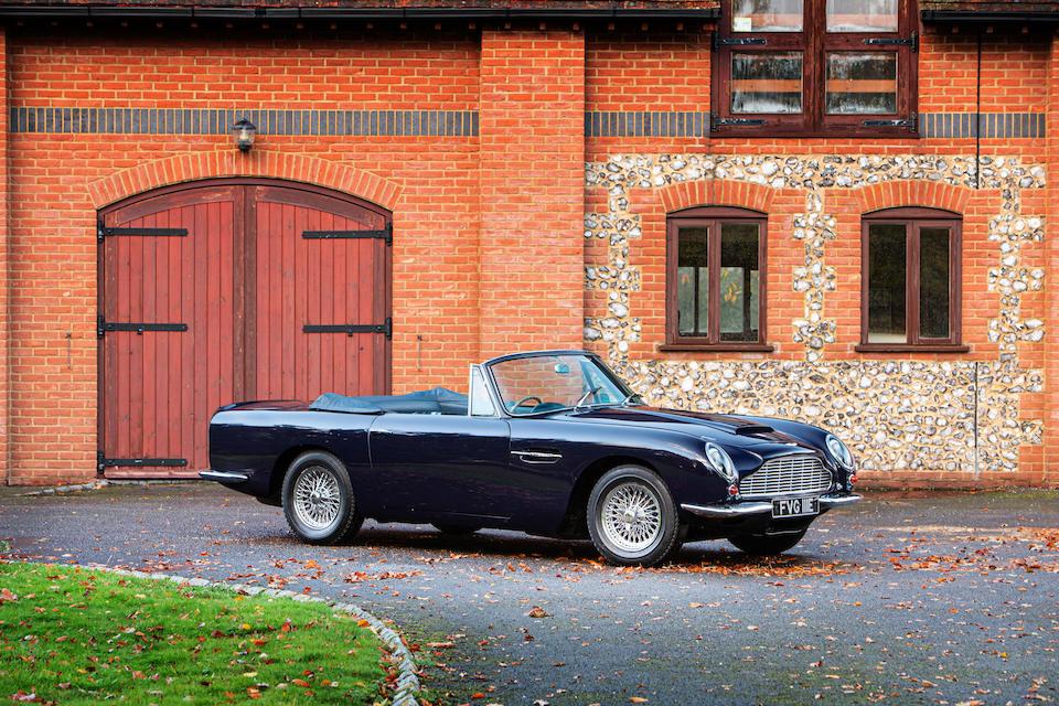 1967 Aston Martin DB6 Vantage Volante Convertible  Chassis no. DBVC/3650/R