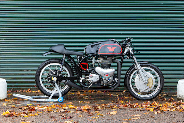 'Norton Manx' Matchless 650cc Racing Motorcycle Frame no. none Engine no. 59/G12L X0646