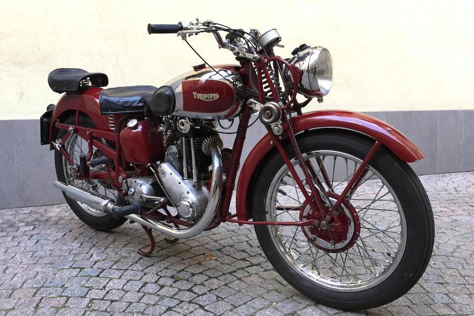 1943 Triumph 343cc 3HW Frame no. TL 36905 Engine no. 3HW 46905