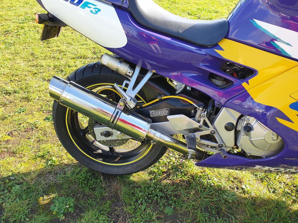 1998 Honda CBR600F3 Frame no. JH2PC2502TM501048 Engine no. to be advised