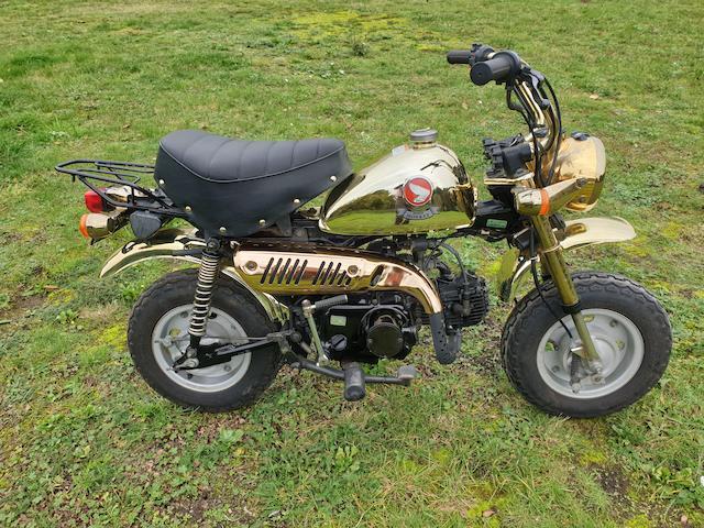 1996 Honda 49cc Z50J Gold Limited Edition 'Monkey Bike' Frame no. Z50J-2302685 Engine no. Z50JE-2202665