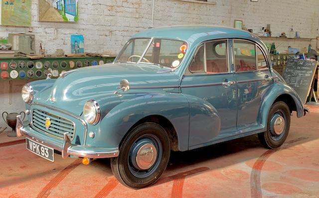 1955 Morris Minor Series II Saloon  Chassis no. FAJ/1/327478