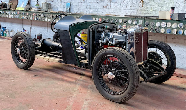 1934 MG PA Project  Chassis no. P2161