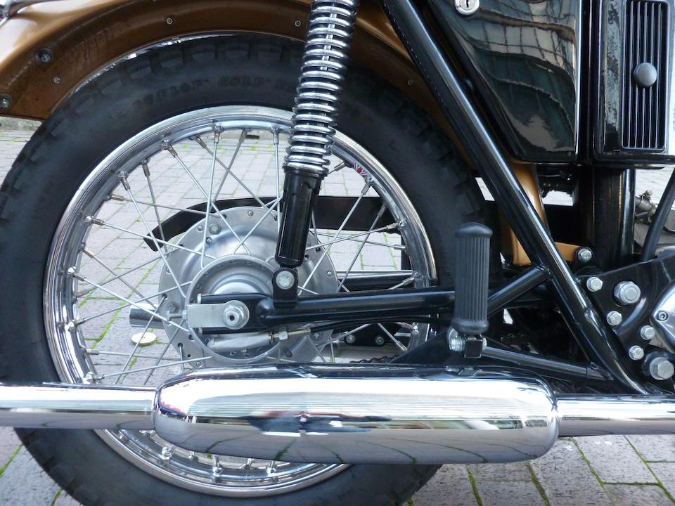 1971 Triumph 649cc T120 Bonneville Frame no. HE30178 Engine no. T120 HE30178