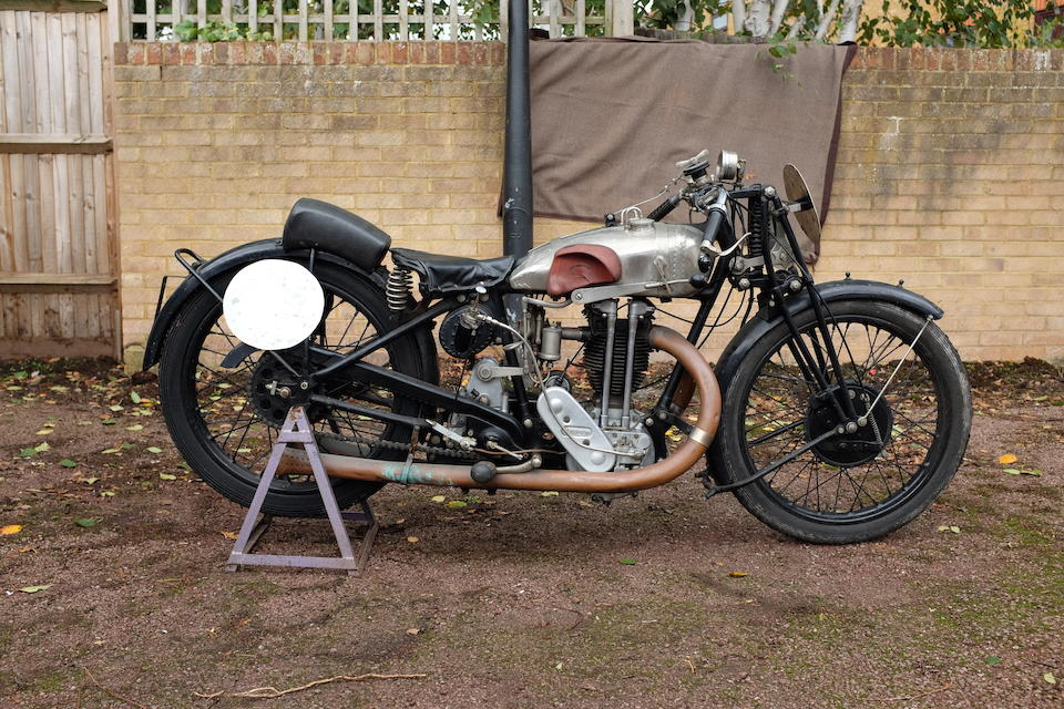 Believed 1927 works TT, 1927 Triumph 498cc Racing Motorcycle Frame no. 702232 Engine no. 122031 Crankcase mating no's T7 1 / T7 1
