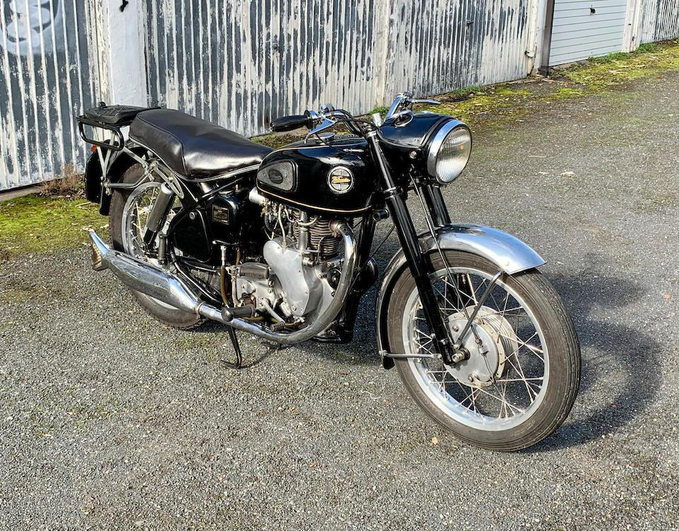 1958 Velocette 350cc Viper Frame no. RS10645 Engine no. VR1649