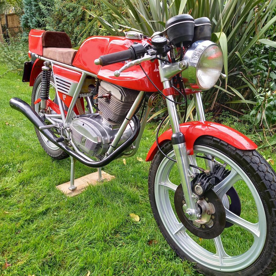 Ex-Arturo Magni, 1975 MV Agusta 125 Sport Prototype  Frame no. 660422 Engine no. 21802064