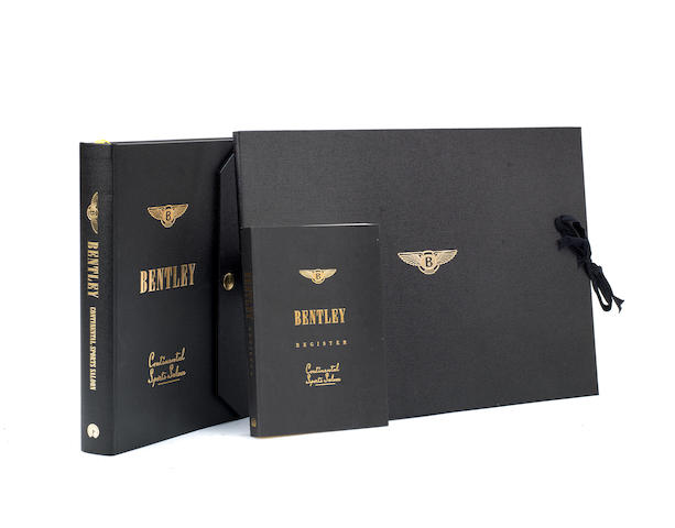 Christian Hueber & David A Sulzberger: Bentley Continental Sports Saloon; a limited 'Owners' Edition' and accompanying Bentley Register, published by Palawan Press, 2003,  ((3))