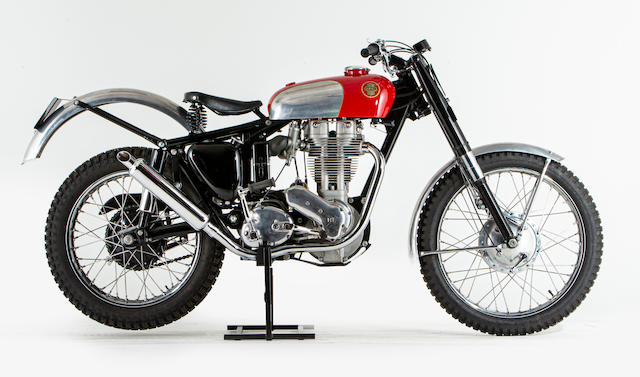Offered from the National Motorcycle Museum Collection, c.1958 Ariel 499cc HT5 Trials Motorcycle Frame no. CRT311 Engine no. CNJ265