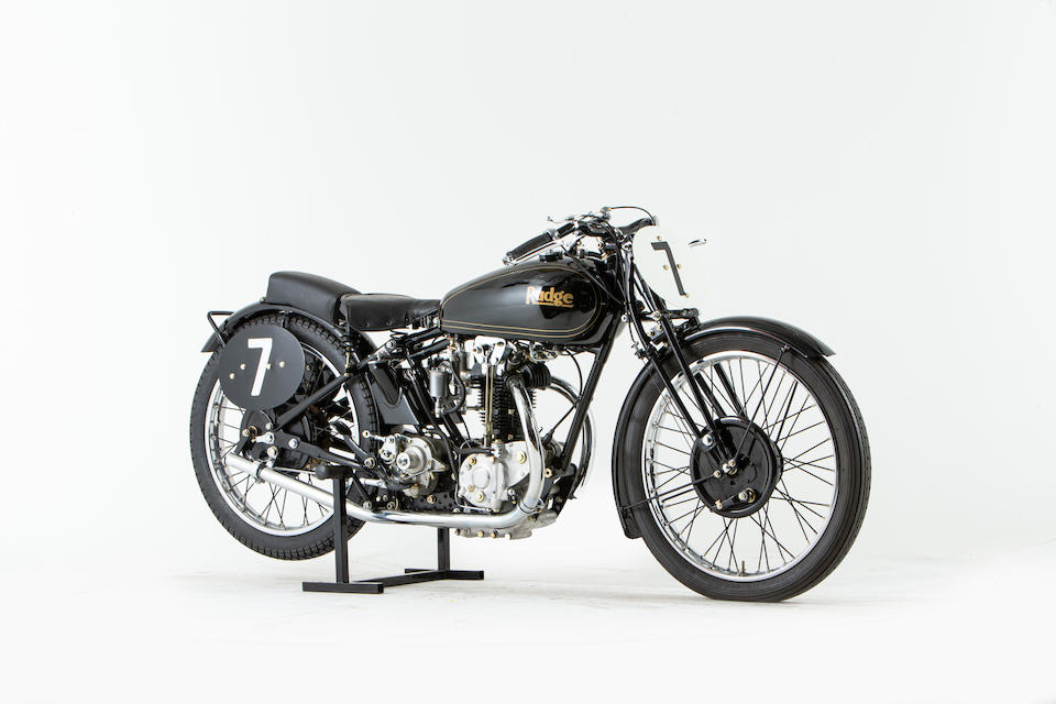 Offered from the National Motorcycle Museum Collection, c.1933 Rudge 499cc TT Replica Racing Motorcycle Frame no. unable to locate Engine no. S45