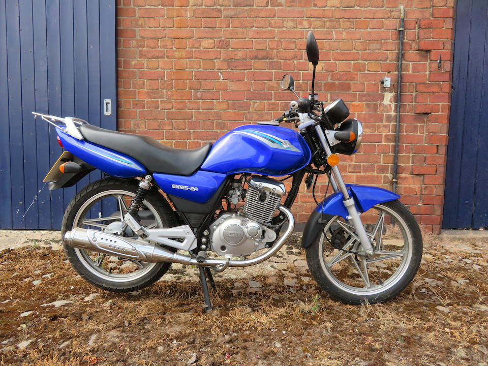 Offered from the Collection of the Late Peter McManus, 2012 Suzuki EN125-2A Frame no. LC6PCJK69B0000171 Engine no. 175FH-2*A1P54890