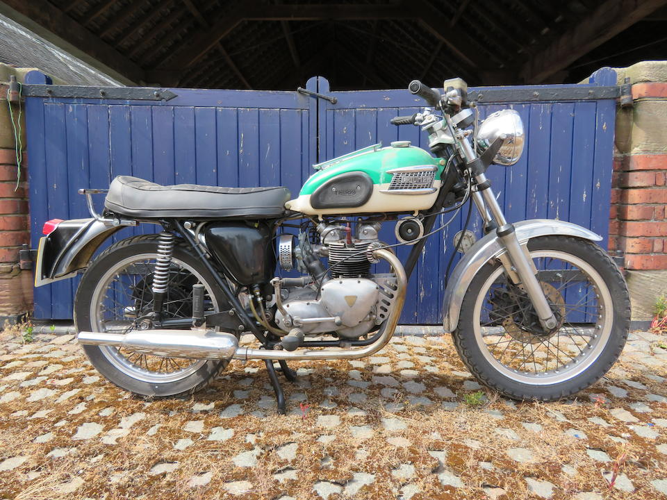 Offered from the Collection of the Late Peter McManus, c.1958 Triumph 349cc 3TA Special Frame no. 21H1830 Engine no. 3TA H29732