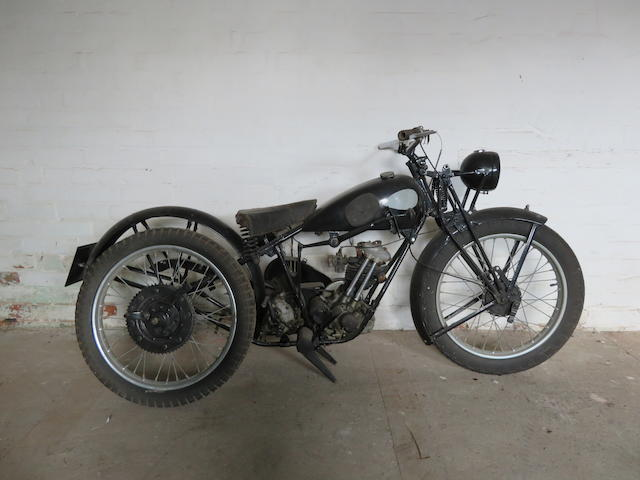 Offered from the Collection of the Late Peter McManus, c.1933 Triumph 148cc Model XO Frame no. 923 XO Engine no. HSS 1515-XO (see text)