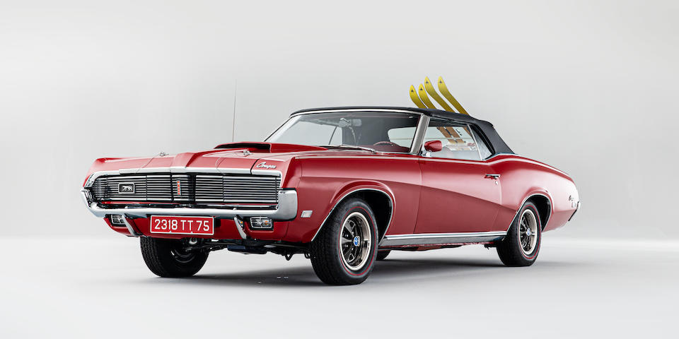 "The Contessa Teresa 'Tracy' di Vicenzo  ""On Her Majesty's Secret Service"",1969 Mercury Cougar Convertible XR-7"