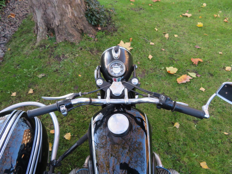 1961 BMW 594cc R60/2 & Steib S501 Motorcycle Combination Frame no. 622668 Engine no. 622668