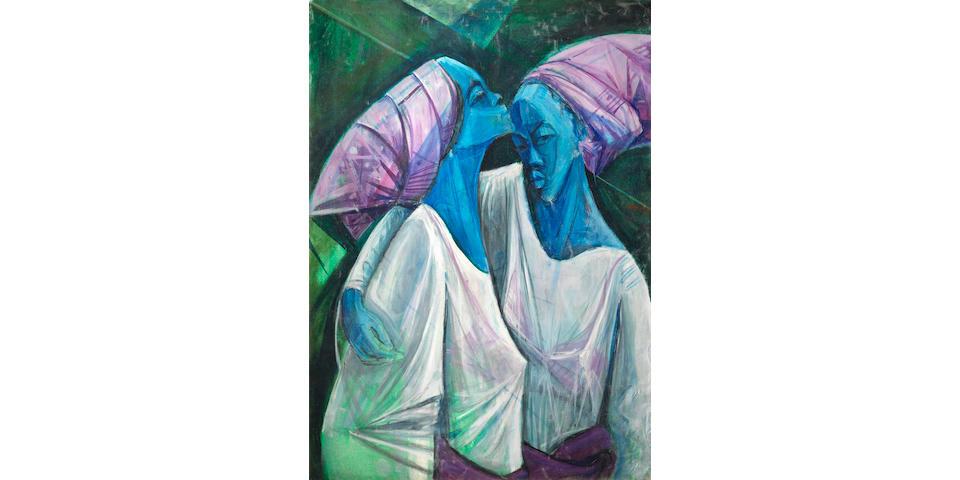 Yusuf Adebayo Cameron Grillo (Nigerian, born 1934) Ayi and Tayi