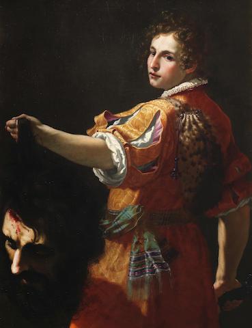 Jacopo Vignali (Prato Vecchio 1592-1664 Florence) David with the Head of Goliath