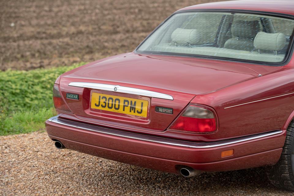 1997 Jaguar XJ6 3.2-Litre Sports Saloon  Chassis no. SAJJPALG3BP812116
