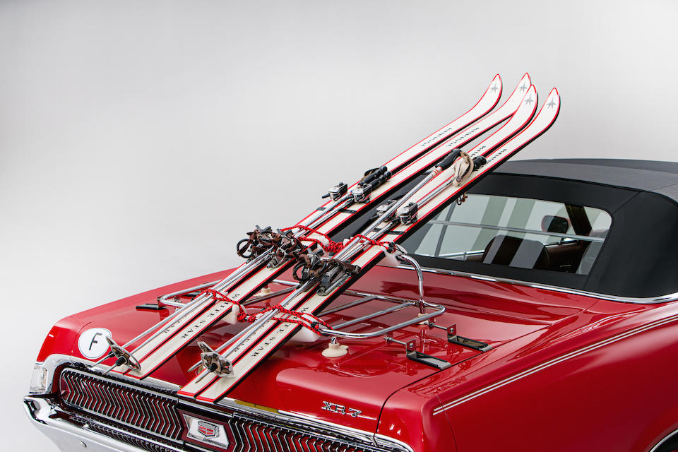 """The Contessa Teresa 'Tracy' di Vicenzo  """"On Her Majesty's Secret Service"""",1969 Mercury Cougar XR7 Convertible  Chassis no. 9F94R549292"""
