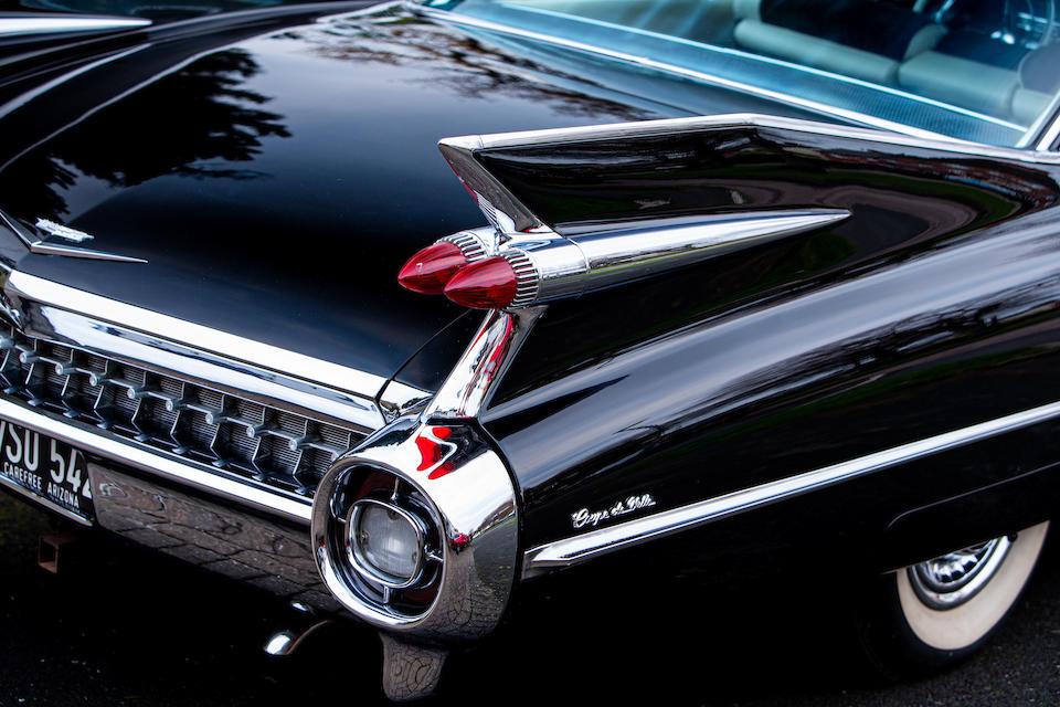 1959 Cadillac Coupe de Ville  Chassis no. 59J017914