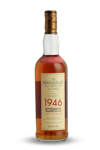 The Macallan Select Reserve-52 year old-1946