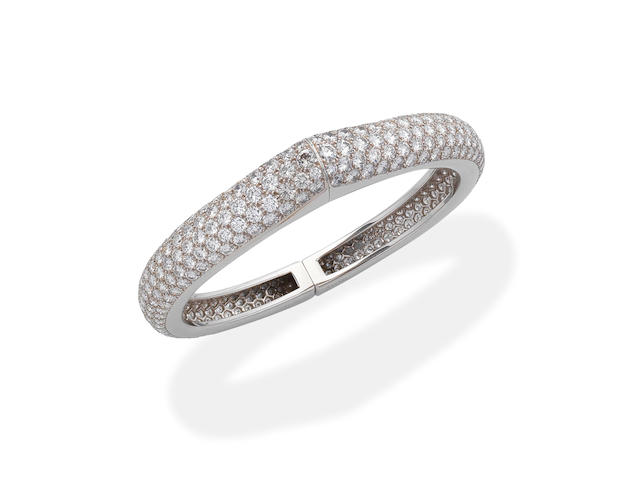 CARTIER: DIAMOND BANGLE