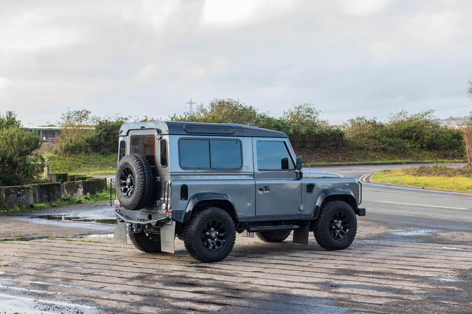 2015 Land Rover Defender 90 XS TD 4x4 Utility  Chassis no. SALLDWBP7FA474645