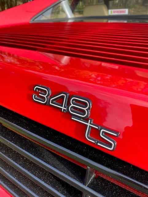 1993 Ferrari 348 TS  Chassis no. ZFFKA36C000094406