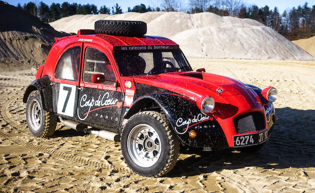 1974 Citroën 2CV Twin-Engined 4x4 Special  Chassis no. 54KA6411