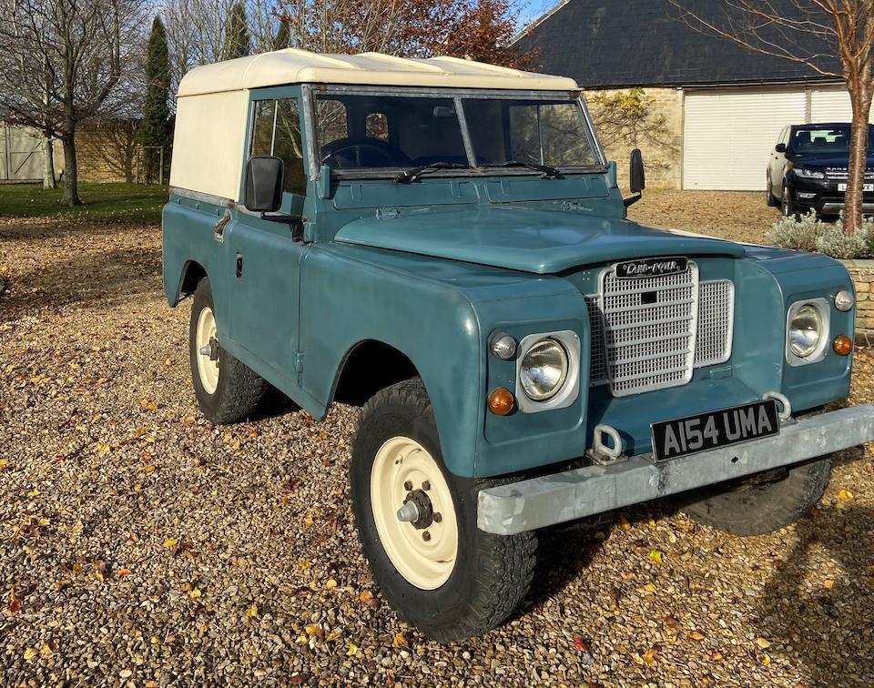 "1984 Land Rover Series III 88""  Chassis no. SALLBAAG1AA208530"