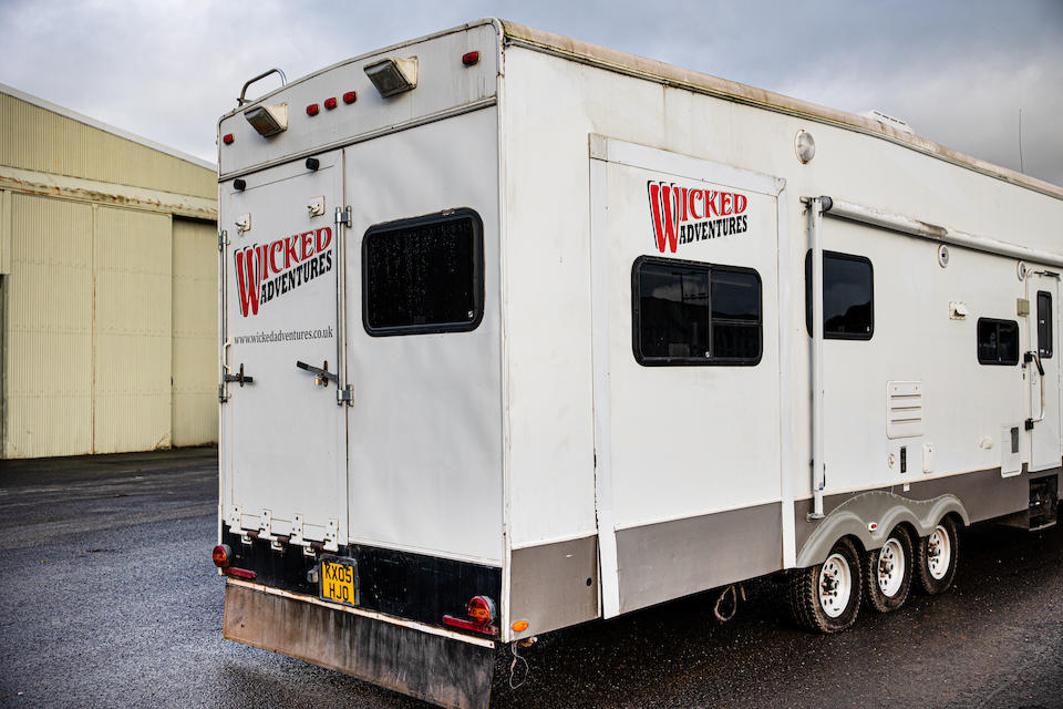 2006 Raptor 6-wheel Accommodation Trailer  Chassis no. TBC