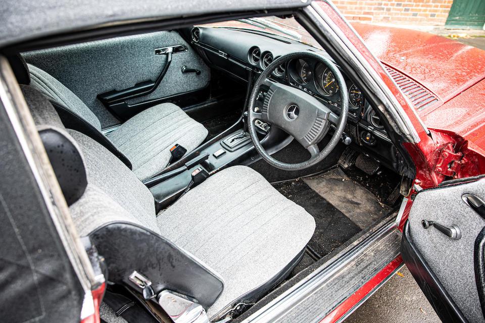 1976 Mercedes-Benz 350SL Convertible  Chassis no. 10704322012136
