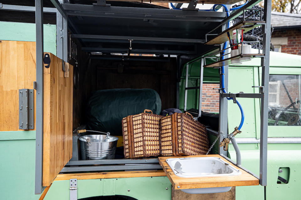 """'ex-Hugh Fearnley Whittingstall' ,c.1982 Land Rover 109"""" 4x4 'Gastrowagon'  Chassis no. 25108476B"""