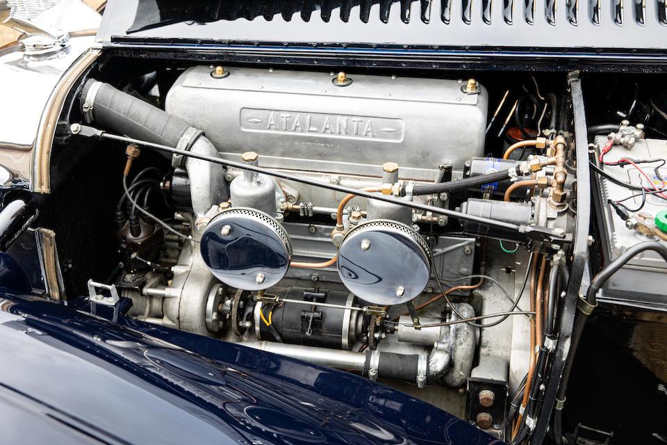 The Ex-Midge Wilby, 1939 Scottish RAC Rally,1937 Atalanta 2-Litre Sports  Chassis no. 1011 Engine no. 1009