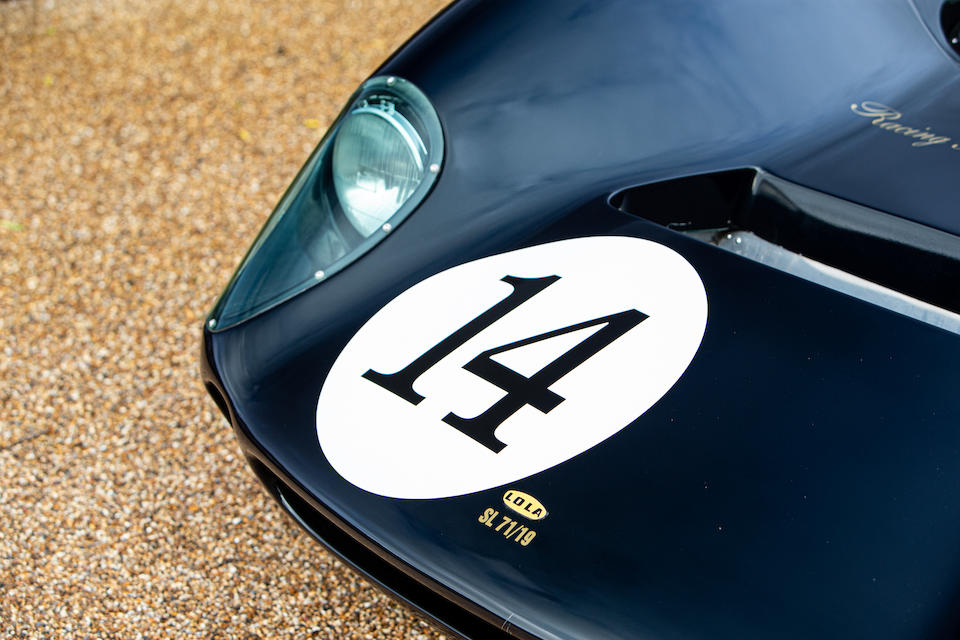 1965 Lola T70 MkII Spyder  Chassis no. SL71/19