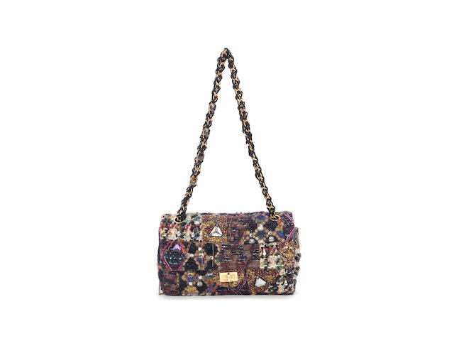 Byzantine Tweed Lesage Reissue Flap Bag, Chanel, c. Pre Fall 2011, (Includes serial sticker, dust bag and box)