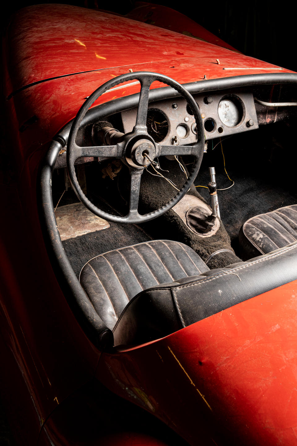 The Property of a Gentleman and Racing Enthusiast,1952 Jaguar XK120 Roadster Project  Chassis no. 673053